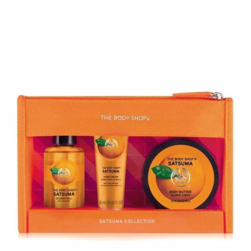 Buy The Body Shop Satsuma Beauty Bag Singapore