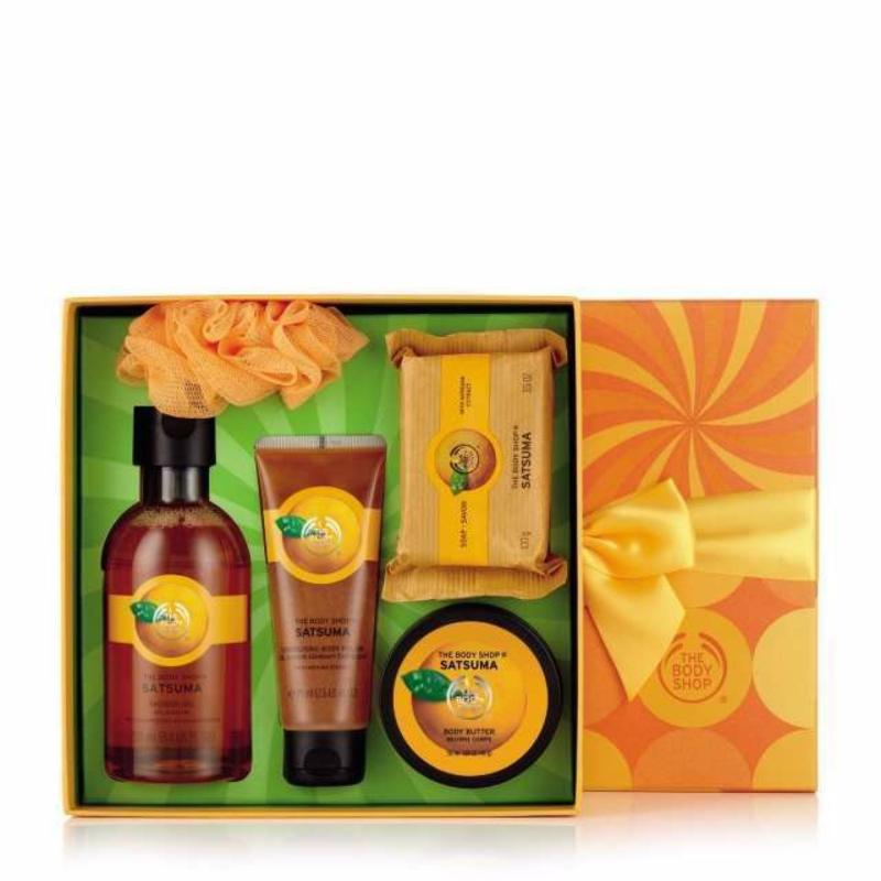 Buy The Body Shop Satsuma Festive Picks Singapore