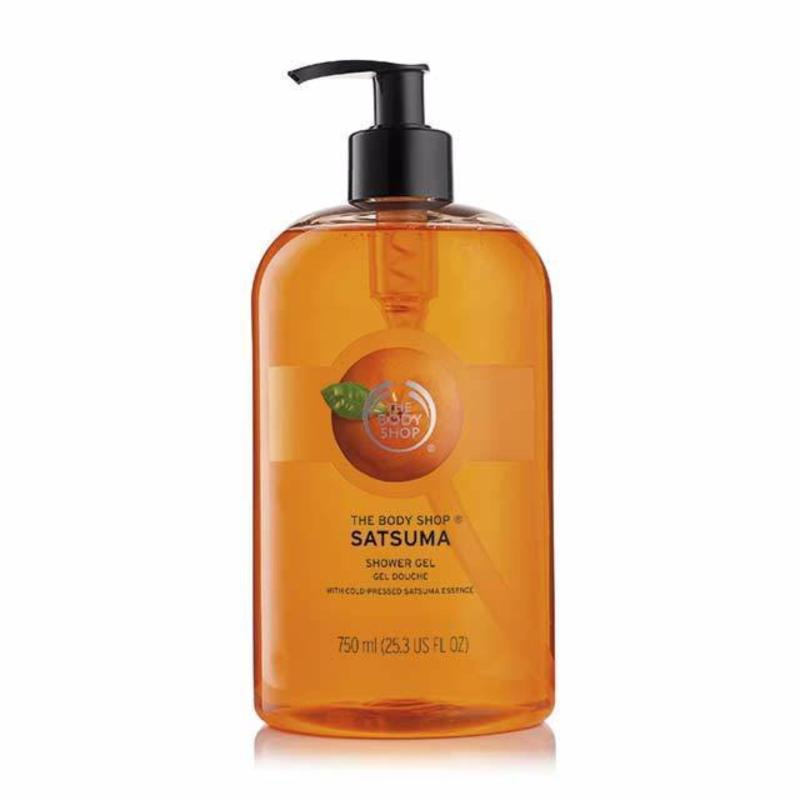 Buy The Body Shop Satsuma Shower Gel (750ML) Singapore