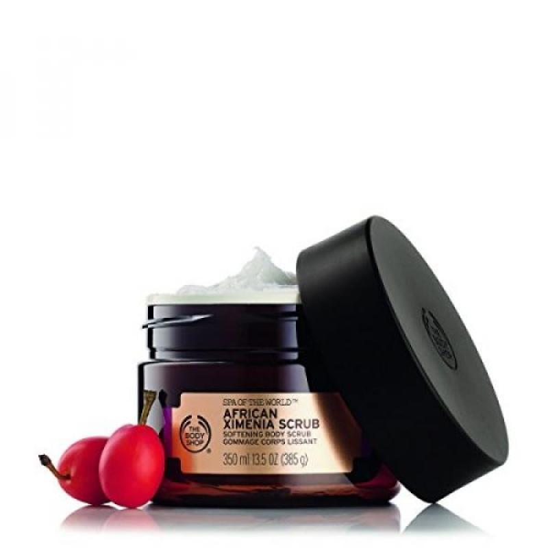 Buy The Body Shop Spa of the World African Ximenia Body Scrub, 13.5 Ounce Singapore