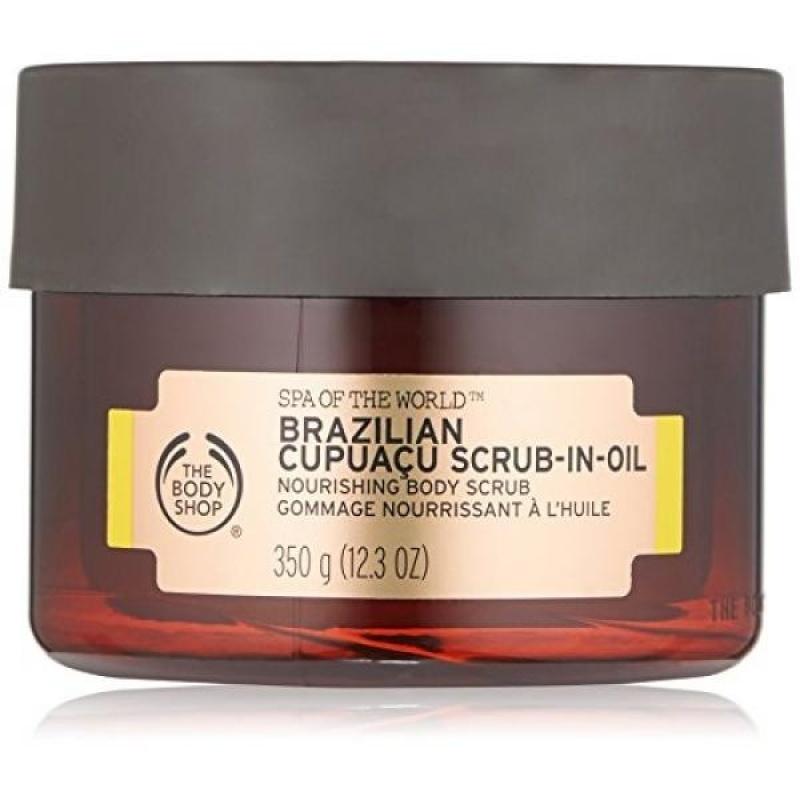 Buy The Body Shop Spa of the World Brazilian Cupuacu Scrub-In-Oil, 12.3 Ounce - intl Singapore