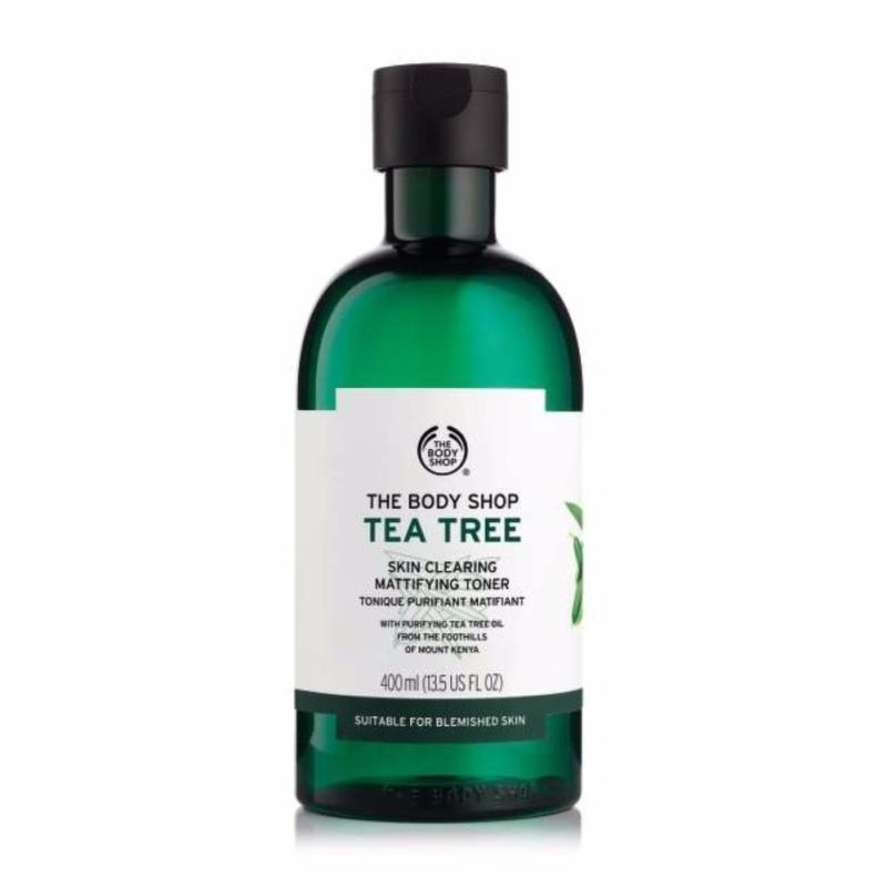 Buy The Body Shop Tea Tree Skin Clearing Mattifying Toner (400ML) Singapore