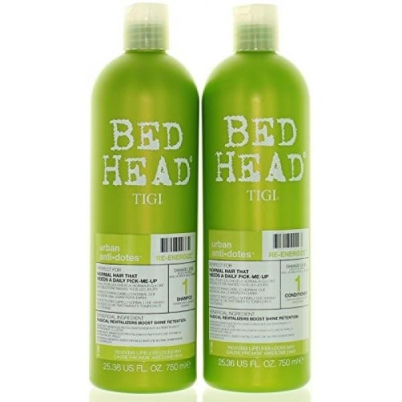 Buy TIGI Bed Head Re-Energize Shampoo and Conditioner Duo, 25.36 oz - intl Singapore
