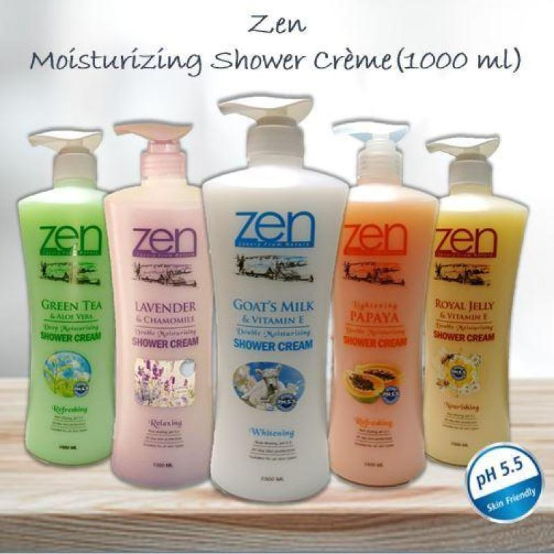 Buy Top Deals Zen Series of Shower Cream (Royal Jelly) + 500ml Goat Milk Hand Wash Singapore
