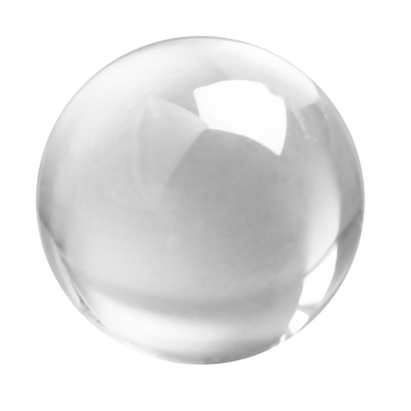 Buy Toprank Home Decoration Ornament Transparent Clear Crystal Ball Sphere - intl Singapore