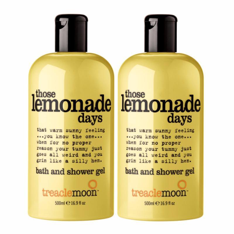 Buy Treaclemoon® Those Lemonade Days Bath & Shower Gel 500ml x 2 (Twin Pack) Singapore