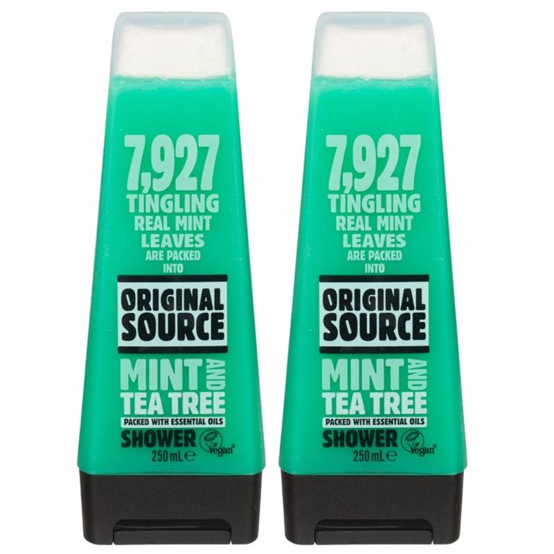 Buy [TWIN-PACK] Original Source MINT and TEA TREE Shower Gel 250ml Singapore