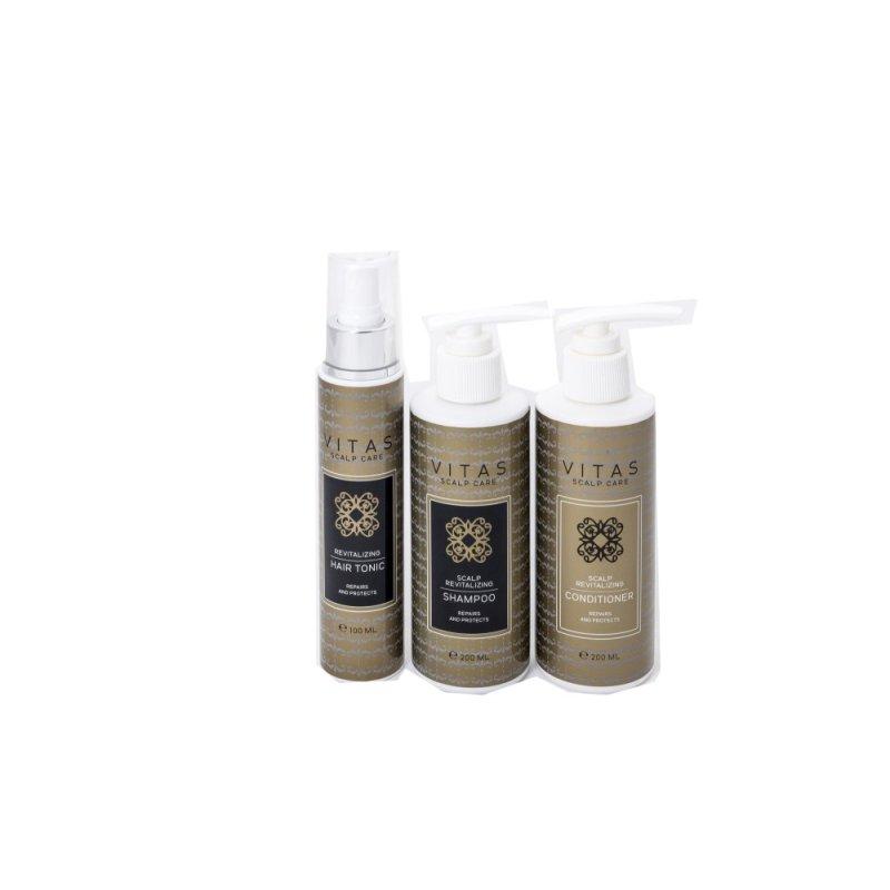 Buy Vitas Pro Scalp Revitalizing Shampoo & Conditioner - 200ml + Tonic Singapore