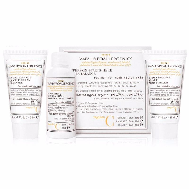 Buy VMV Hypoallergenics Superskin-Starts-Here Set: Hydra Balance For Combination Skin Singapore