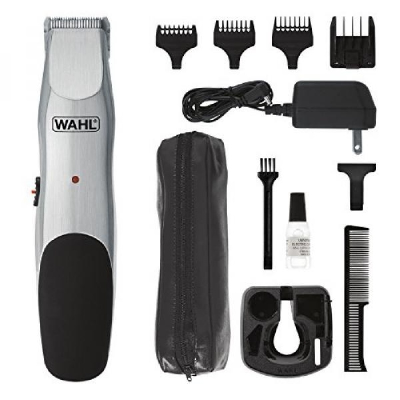 Buy Wahl Clipper Groomsman Cord /Cordless Beard Trimmers for men, Hair Clippers and Shavers, Rechargeable mens Grooming Kit, Gifts for Husband Boyfriend, by the Brand used by Professionals # 9918-6171 - intl Singapore