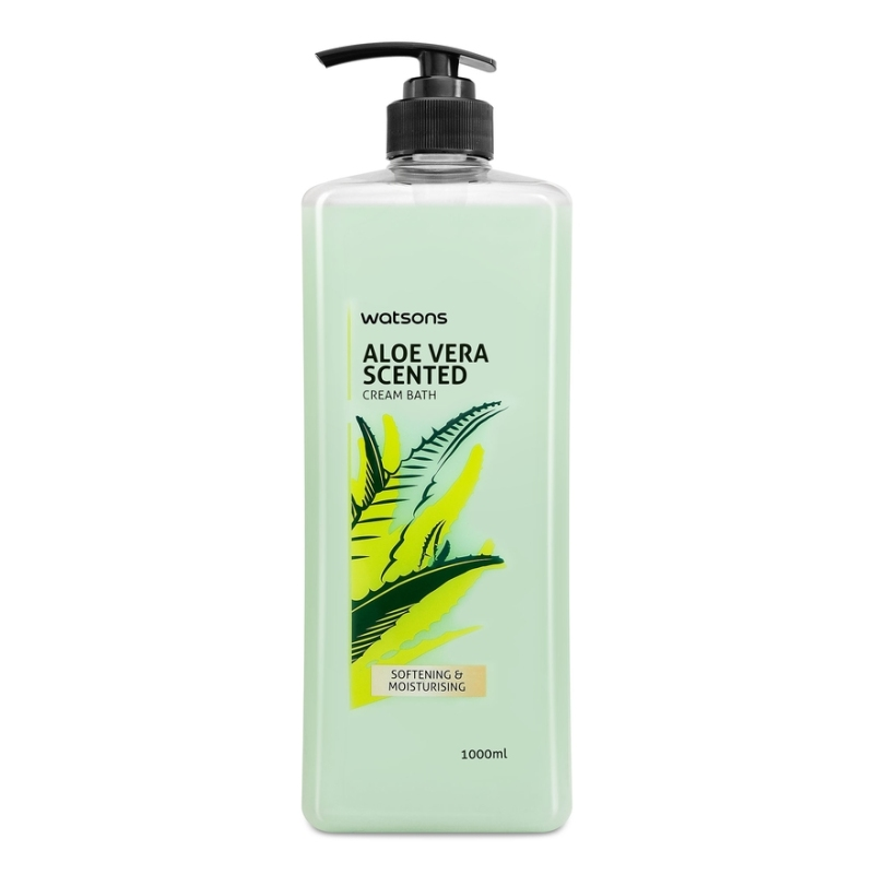 Buy Watsons Aloe Vera Scented Cream Body Wash 1l Singapore