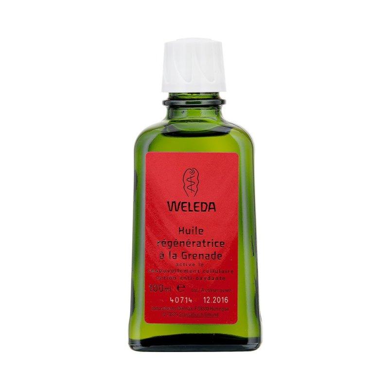Buy Weleda Pomegranate Pomegranate Regenerating Body Oil 100ml Singapore