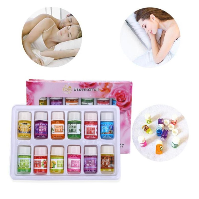 Buy Women Natural Fragrance Water-Soluble Aromatherapy Plant Essential Oil - intl Singapore