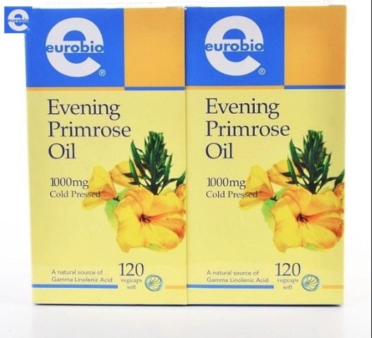Eurobio Evening Primrose Oil 1000mg 2×120's