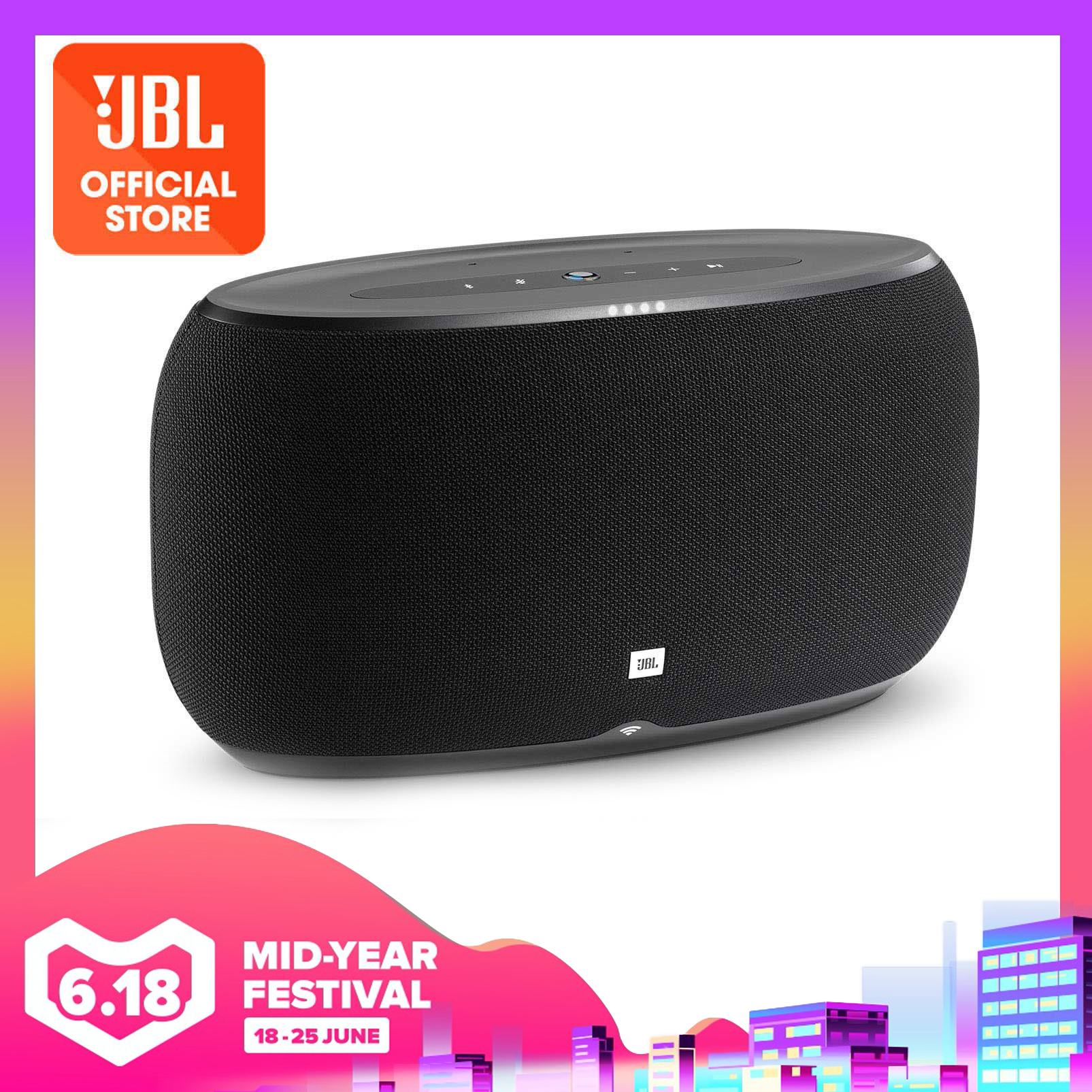 JBL LINK 500 Google Assistant Voice Activated Bluetooth Speaker | Why Not Deals
