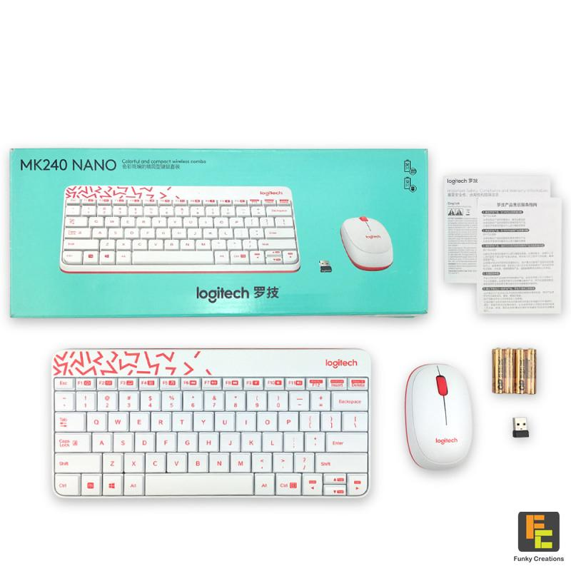9ba79697b16 Specifications of Logitech MK240 NANO Wireless Keyboard and Mice Combo (2  Colors)