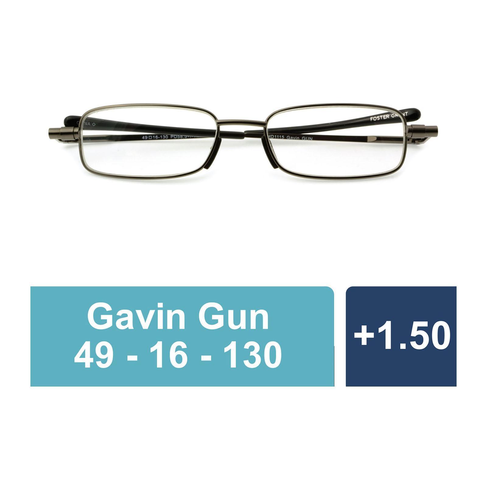 7e1bd3c2f4 Foster Grant Magnivision Bradley +1.50 Reading Glasses