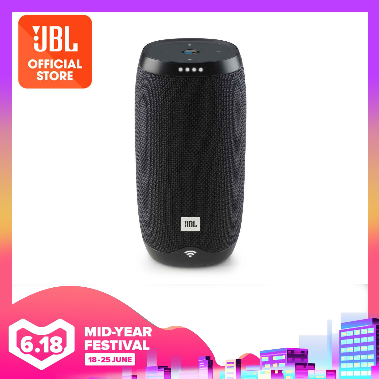 JBL LINK 10 Google Assistant Voice Activated IPX7 Waterproof Bluetooth Portable Speaker | Why Not Deals