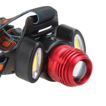 15000LM 3x XML T6 USB Rechargeable Headlamp HeadLight Torch Lamp -intl - 5