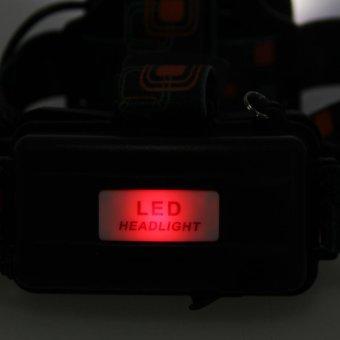 15000LM 3x XML T6 USB Rechargeable Headlamp HeadLight Torch Lamp -intl - 3