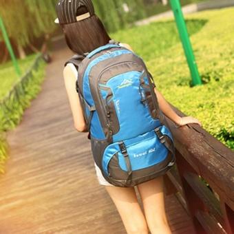 60L Waterproof Oxford Hiking Camping Backpacks OutdoorWear-resisting Bag - intl - 4