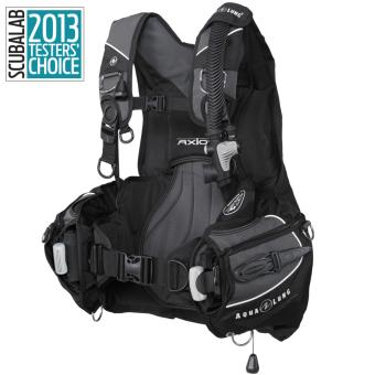 Buoyancy Compensator, Axiom, Black/Charcoal XS