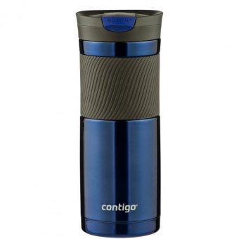 Contigo Snapseal(TM) Byron Stainless Steel Travel Mug 20oz (Blue)