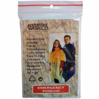 Emergency Poncho / Disposable Poncho - 5