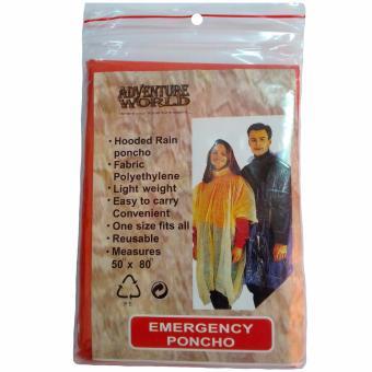 Emergency Poncho / Disposable Poncho - 4