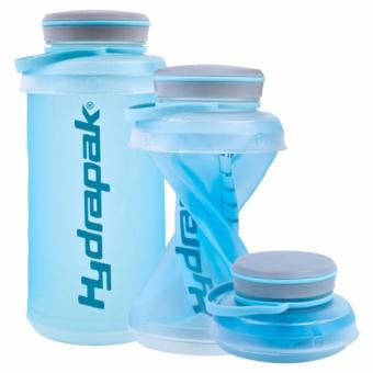 HydraPak Stash 1L Collapsible Water Bottle -Blue