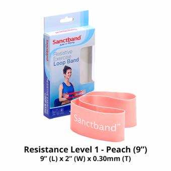 Harga Sanctband 9-inch Loop Band (Resistance Level 1 - Peach)