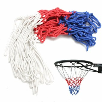 Durable Indoor Outdoor Sports Replacement Basketball Hoop Goal Rim Net Nylon - intl