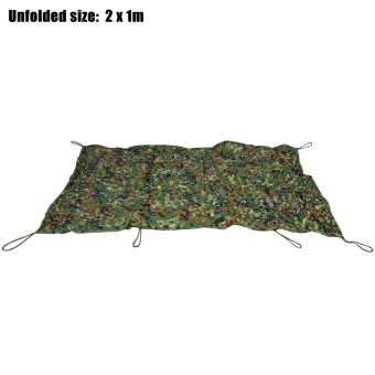 Harga 1M x 2M Military Hunting Camping Tent Car Cover Oxford Camouflage Net - intl