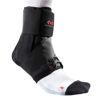 Harga McDavid 195 Level 3 Ankle Brace w/ straps (Black) - Small