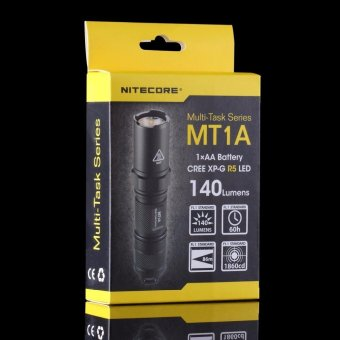 Nitecore MT1A CREE XP-G R5 LED 3 Mode Multi-Task Series Mini LED Torch Hid Flashlight Tools Outdoor Sport Camping Hiking Waterproof Lightweight Lamp - intl - 5