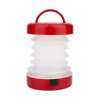 5 LED Scalable Waterproof Portable Mini Tent Outdoor Camping Lantern Light (Red)