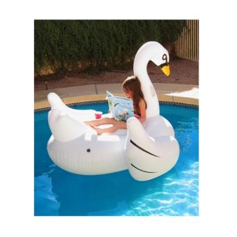 Harga Small White Swan Float
