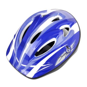 Harga Children skating helmets protect against bicycles (blue) - intl