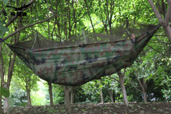 Harga Outdoor double nets air tent