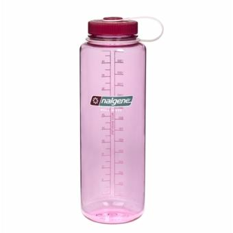 Nalgene 48 oz Wide Mouth Bottle-(Cosmo/Beet Red Cap)