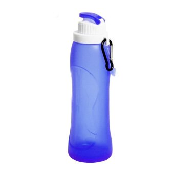 PAlight Outdoor Creative Foldable Portable Silicone Water Bottle - intl