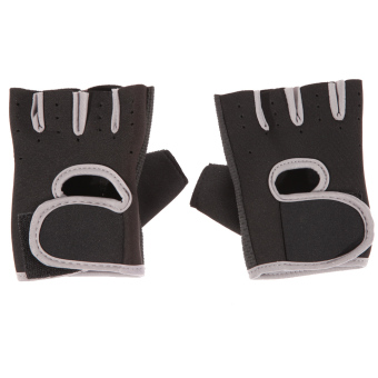 Harga Unisex Fitness Exercise Workout Weight Lifting Sport Gloves Gym Training