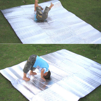 Sleeping Mattress Mat Pad Waterproof Aluminum Foil EVA Outdoor Camping Mat - 2