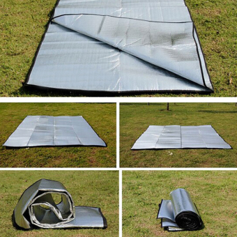 Sleeping Mattress Mat Pad Waterproof Aluminum Foil EVA Outdoor Camping Mat - 5