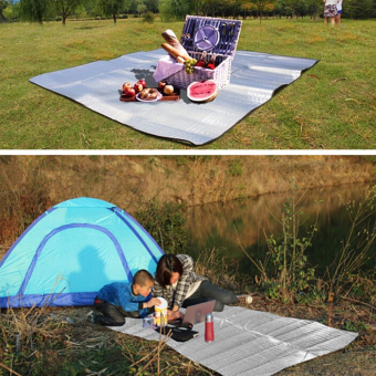 Sleeping Mattress Mat Pad Waterproof Aluminum Foil EVA Outdoor Camping Mat - 3