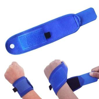 PAlight Polyester Wrist Guard Band Brace Support Gym Strap Magnetic Carpal Tunnel Sprains Strain Protection - intl
