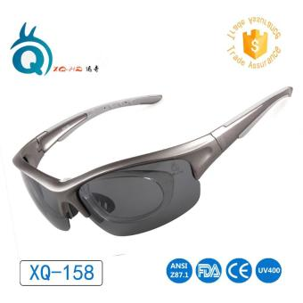 POLARIZED Lens Cycling Sport Sunglasses FIT OVER MYOPIA Eywear Frame Outdoor Running Sport Cycling Glasses - intl