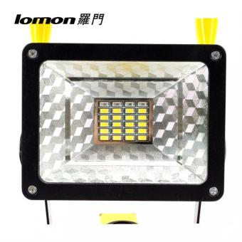 24 LED Flood Lights Portable Work Light Rechargeable Flood Spot Camping Hiking Lamp Outdoor Handle Emergency Flashlight 3 Modes Color Change - intl - 2