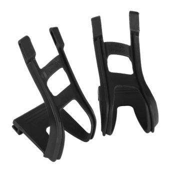 Wellgo Bike Toe Clips and Straps (Black) - intl - 5