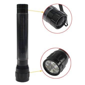 Durable 7 Solar Super Flashlight Torch Camp Lamp Travel Light Outdoor - 3